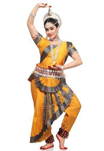 edc3f225cf57 Bharatnatyam Dance Costume, क्लासिकल डांस ...