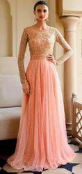 Ethnic Party Elegant Ladies Gown