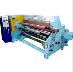 Adhesive Tape Log Roll Rewinding Machine