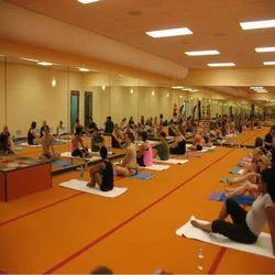 Yoga Wooden Hall Flooring Service