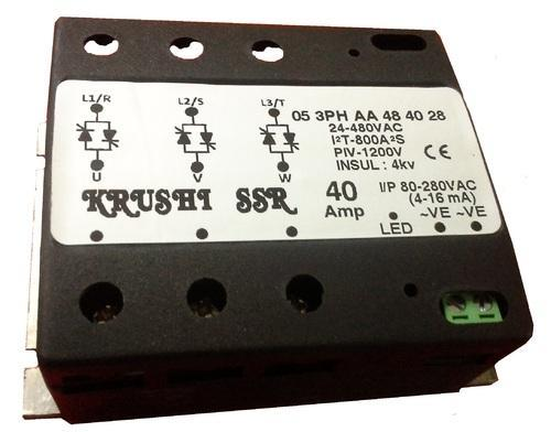 Ac To Ac 40amp 3phase Solid State Relay at Rs 999 piece Ac