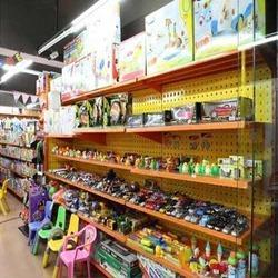 Toy Store Shelves
