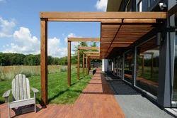Pine Wooden Pergola for Exterior