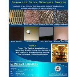 Designer Stainless Steel Sheet Manufacturers Suppliers
