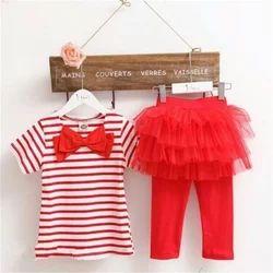 Moda Fina Red , Pink Baby Girl Dress