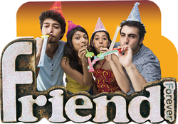 Friends Desktop Frame