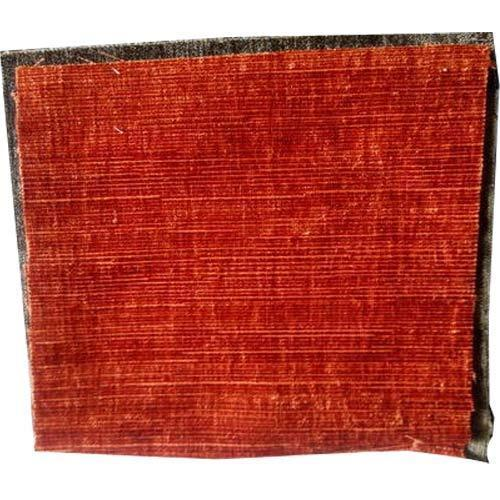 chenille sofa Plain Fabric - Solid Red Upholstery Fabric ...