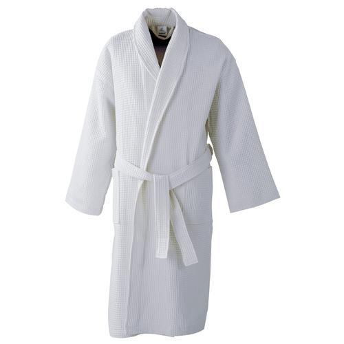 8006d36973 White Cotton Bath Robe