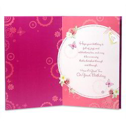 birthday greeting card manufacturers, suppliers  exporters, Birthday card