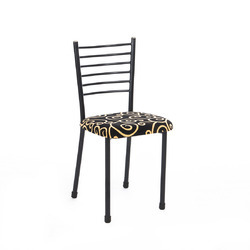 Fabric Metal Dining Chair