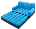 5 In 1 Multicolor Velvet Inflatable Sofa Bed