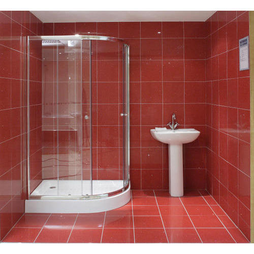 Red Quartz Bathroom Tile