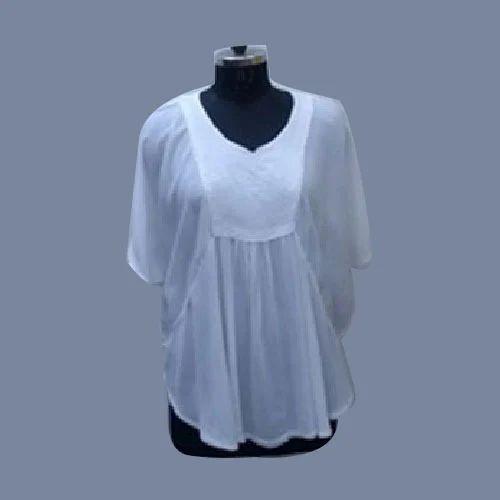 1b7dda229843a2 White Ladies Tops