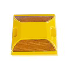 Yellow Modified ABS Plastic Traffic Road Stud