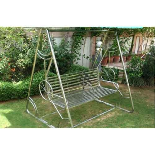 Stainless Steel Garden Swing