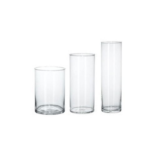 Glass Cylinder Vase Mirrors And Glassware Meeco Auto Lens In