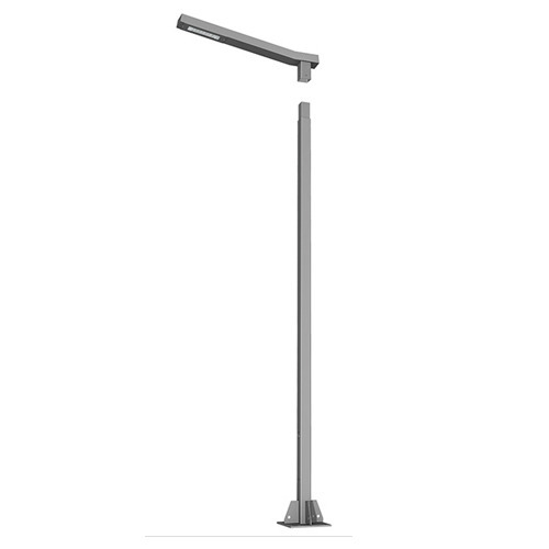 Quadra Lighting Poles Polar Pimple