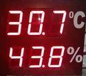 Dual Display Temperature And Humidity Indicator