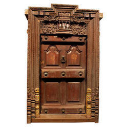 Burma Teak Wood Doors At Best Price In India
