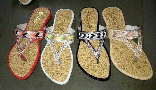 60fd0d976fb Ladies Flats Chappals at Rs 80  pair