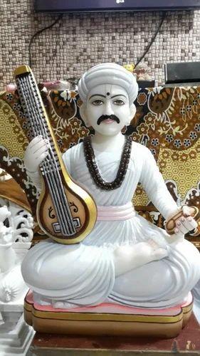 Sant Tukaram Maharaj Tukaram Maharaj Marble Murti