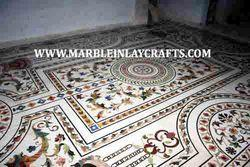 Marble Inlay Design Flooring Service