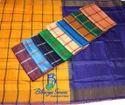 Uppada Soft Silk Checks Saree