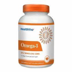 Healthviva Omega 3 Softgels Capsule