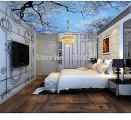 Bedroom Ceiling Wallpapers At Rs 499 Square Feet S Wallpaper