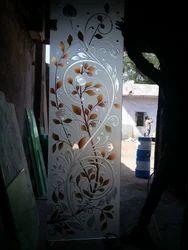 Deep Lacquer Decorative Glass