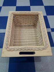 Kitchen wooden basket