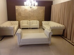 8 Seater Modern Leather Sofa Set