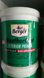 Berger Weathercoat Paint