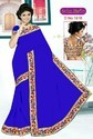 Designer bordar saree