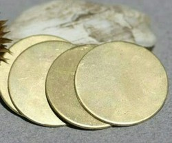 Brass Blank Circles