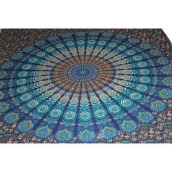 Indian Queen Mandala Tapestry