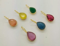 color stone stud