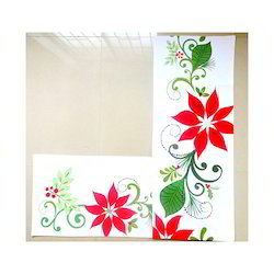 Multicolor Printed Designer Table Runner, Size: 35x150 Cms