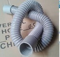 Steel Wire Reinforced Flexible Pipe Grey And Black