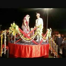 Revolving  Varmala Stage