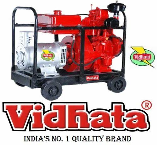 Vidhata 3KVA Portable Generator - Vidhata Group, Agra | ID: 9930883788