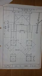 Transmission Line Tower Foundation