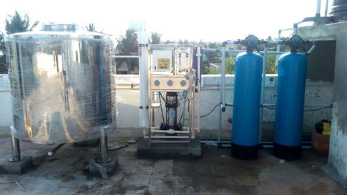 Stainless Steel Semi-automatic Commercial RO Plant, Institutional RO Plant, Chlorinator