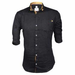 Unisex Shirt Casual Plain Shirts