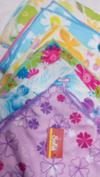 Flower Print Handkerchief