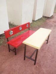 FRP School Desk Bench