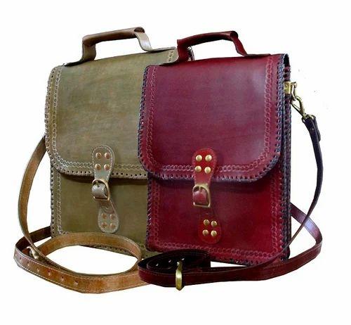 Handmade Leather Messenger Bags