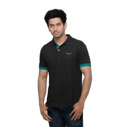 d78b4fdb Manufacturer of Polo T-Shirts & Anthra Colour Half Sleeves Solid ...