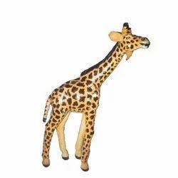 Leather Giraffe Sculpture