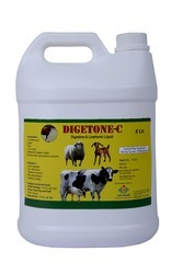 Digetone - C Oral Liver Tonic For Cattles, Large Animals